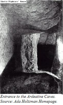 The entrance to the Ardeatine Caves